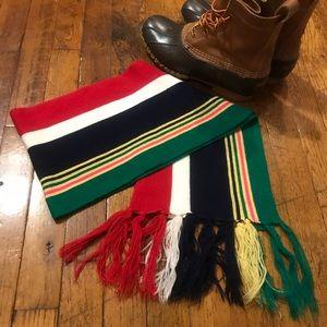 Accessories - Cute Multicolored Striped Scarf!